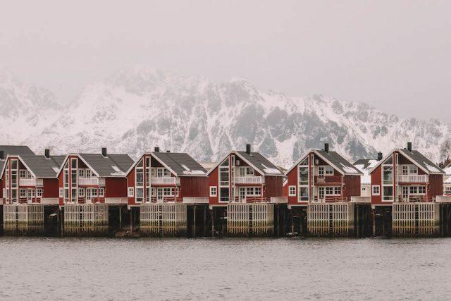 Solvaer Lofoten Noorwegen