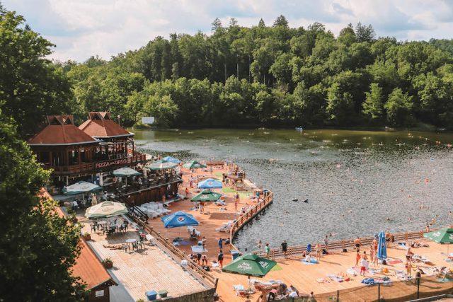 Roemenië vakantie Sovata Baerensee Wellness