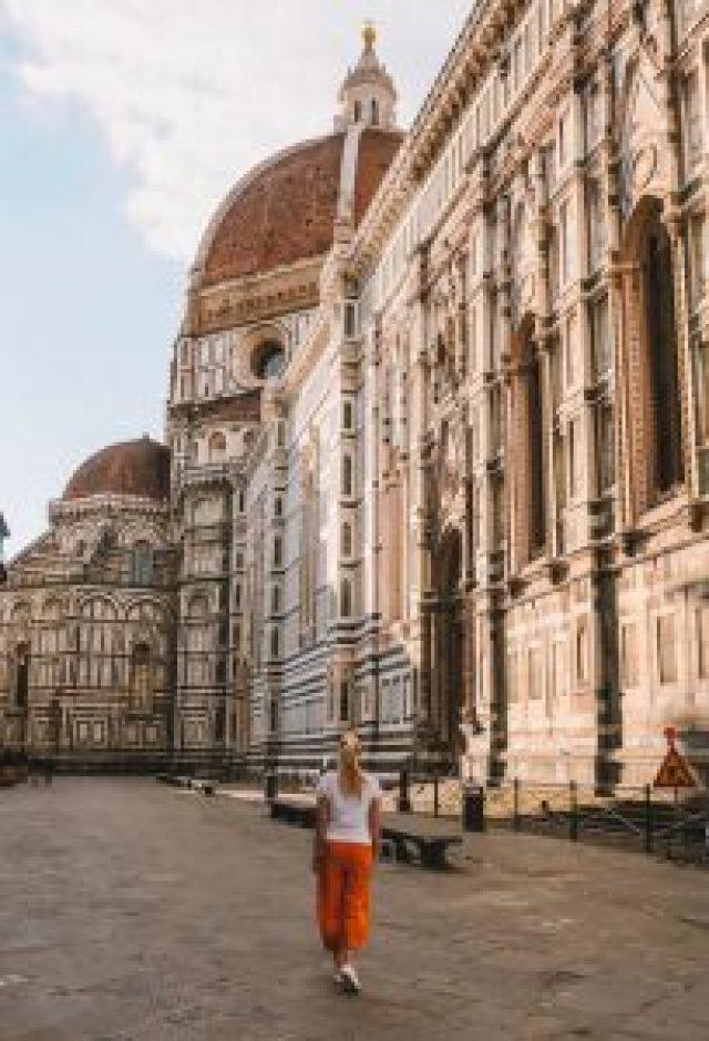 Duomo Florence-attractieszonsopgang
