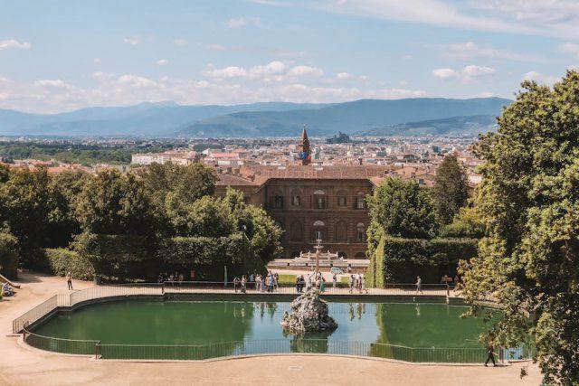 Attracties in Florence Neptunus-fontein Boboli-tuinen
