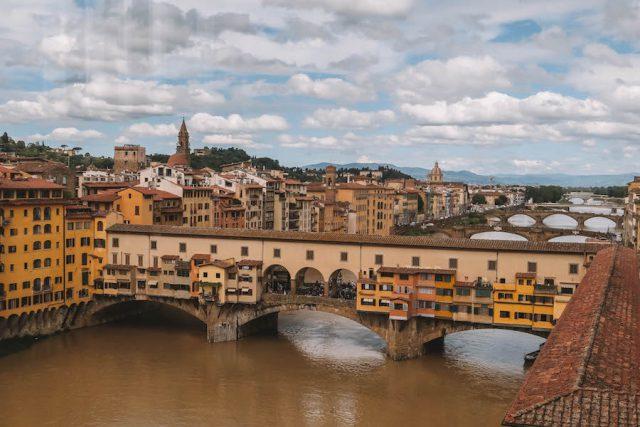 Attracties in Florence Galleria degli Uffizi Ponte Vecchio