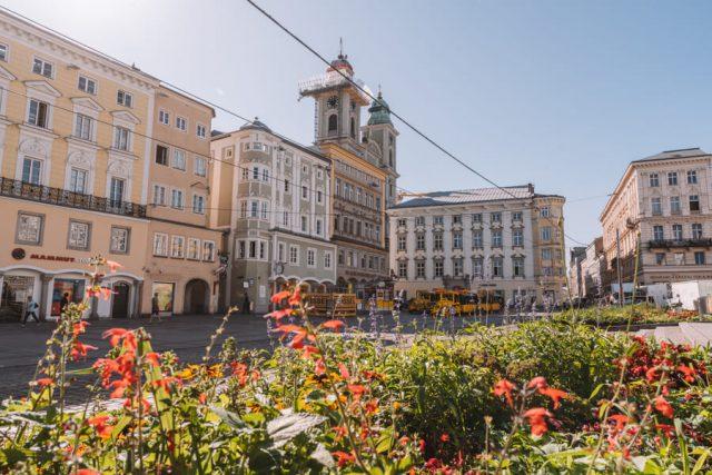 Linz hoofdplein