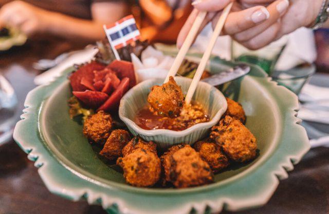 Linz Oostenrijk Thai Restaurant Pandana