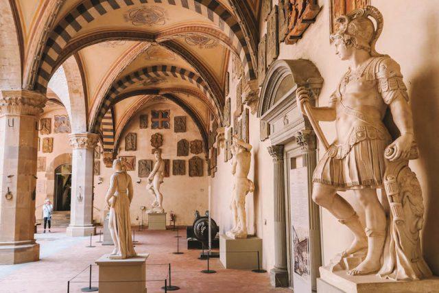 Nationaal museum Bargello Florence bezienswaardigheden