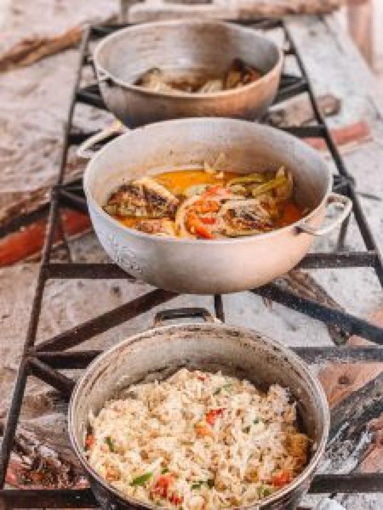 Jamaica boottocht lunch