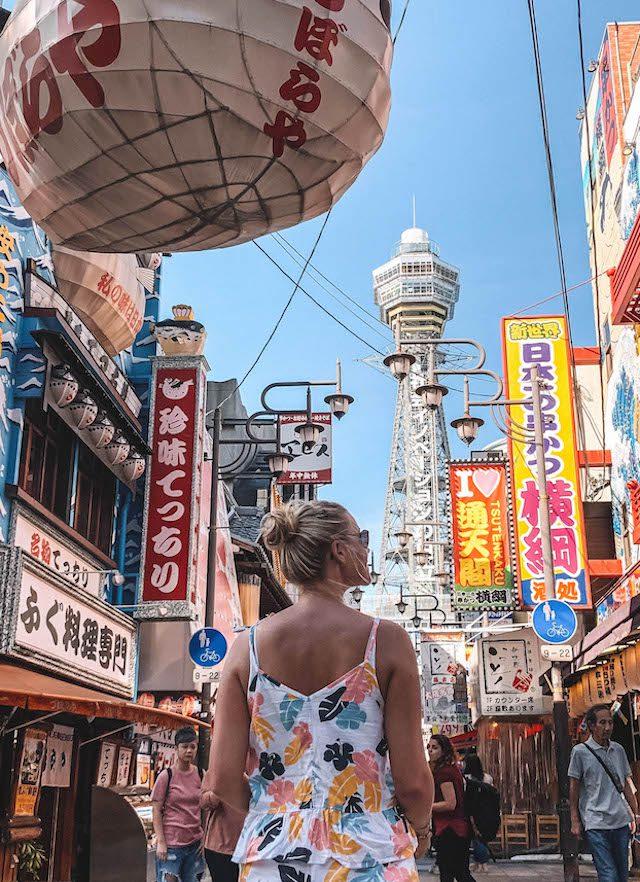 Osaka Aantrekkelijkheden Shinsekai