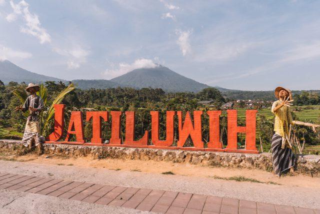 Bali attracties Jatiluwih rijstterrassen