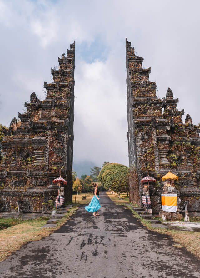 Bali Attracties Munduk Handara Gate