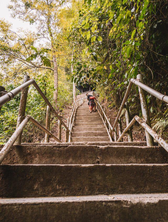 Attracties op Bali Munduk Nung Nung waterval stadia