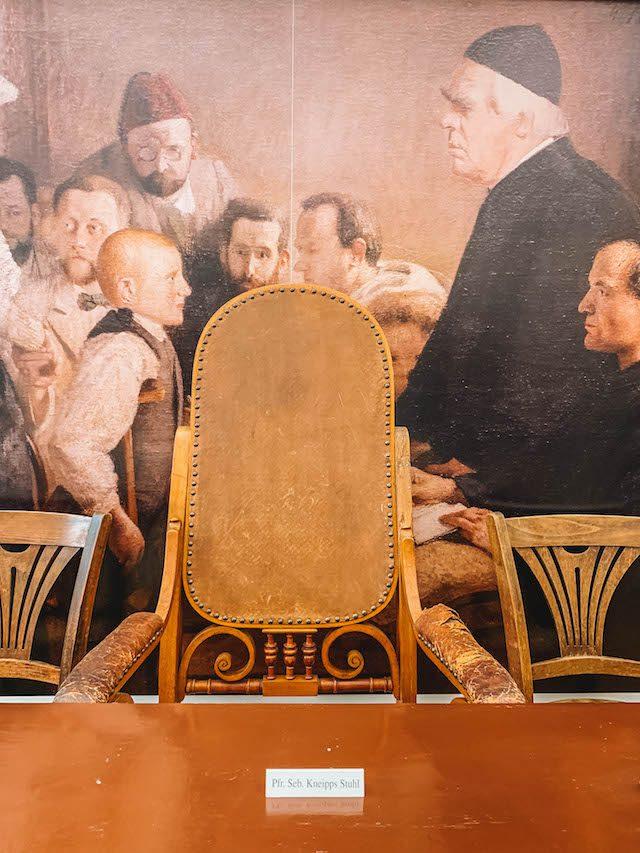 Sebastian Kneipp-stoel