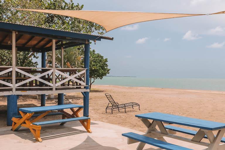 Het restaurant van Jamaica Cloggy