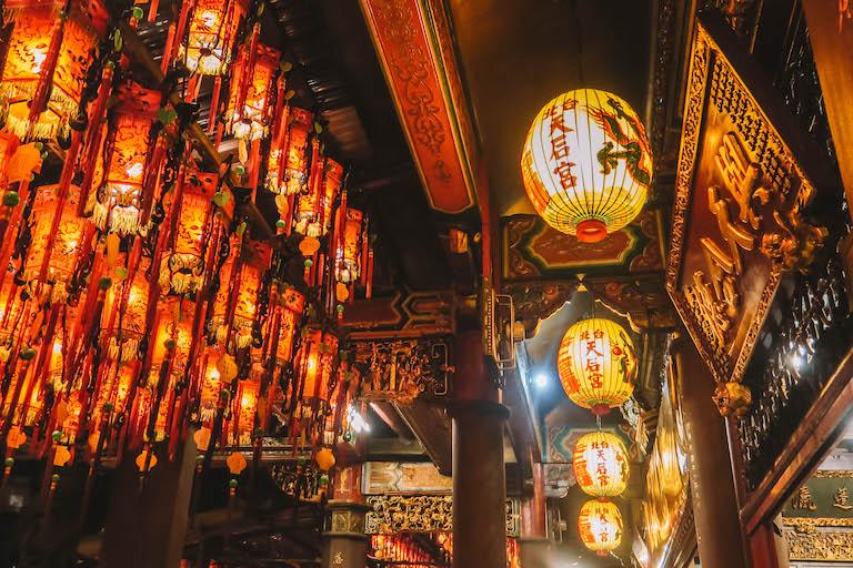Taipei Ximending-tempel