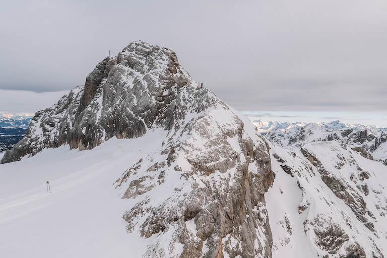 Uitzicht op Dachstein