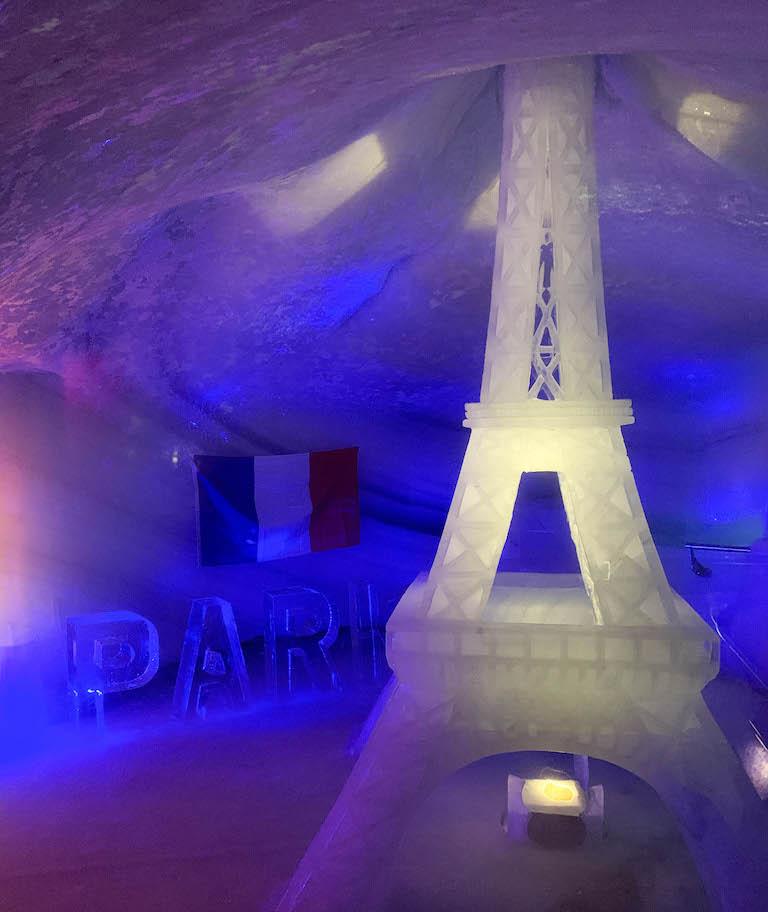 Dachstein-gletsjerijsgrot Parijs