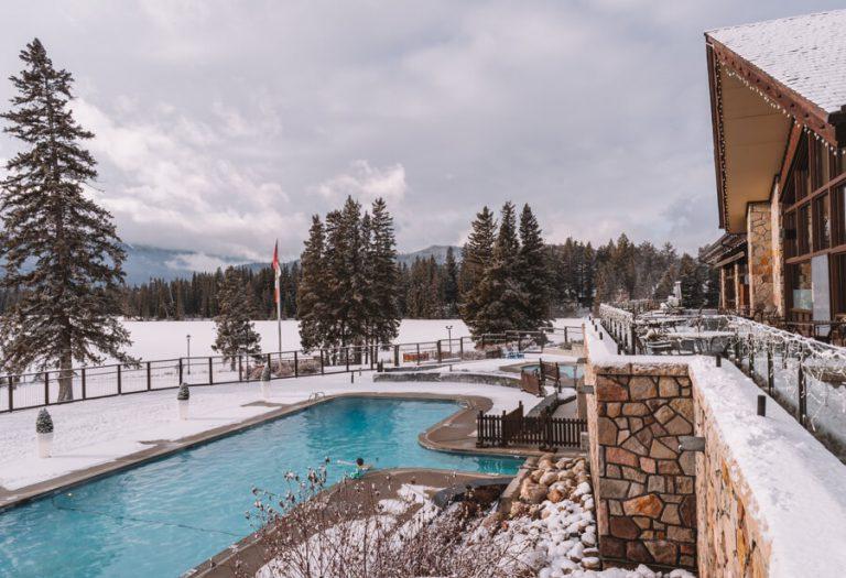 Fairmont Jasper Park Lodge zwembad