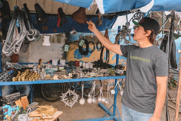 Recyclingmarkt Cuba