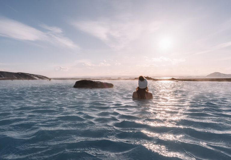 Bestemmingen Juli Myvatn Nature Baths Island