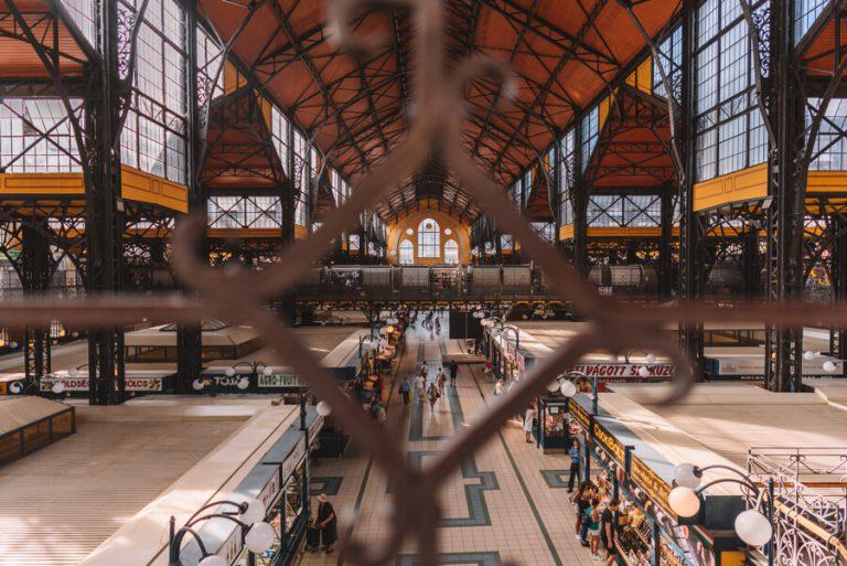Budapest bezienswaardigheden Grote markthal