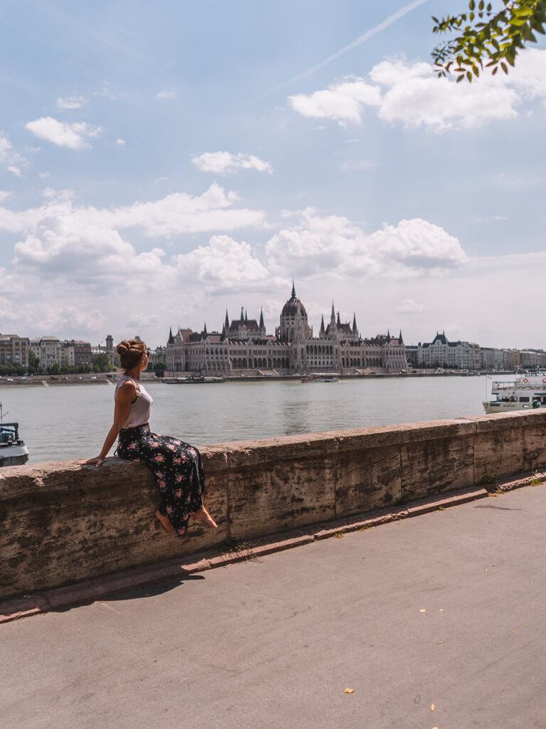 Boedapest bezienswaardigheden Parlement Donau