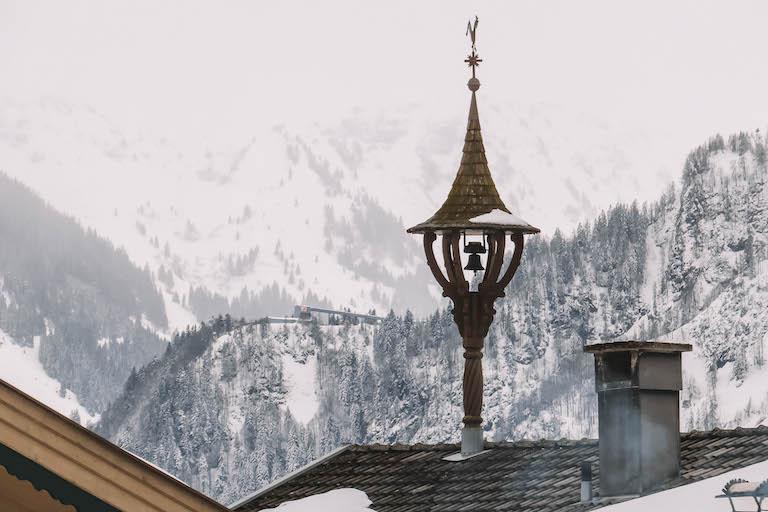 Bergpanorama Hochfilzen
