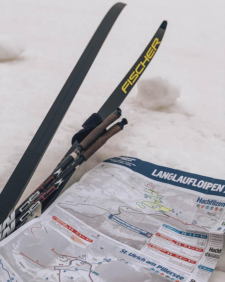 Langlaufen in de Kitzbüheler Alpen Hochfilzen