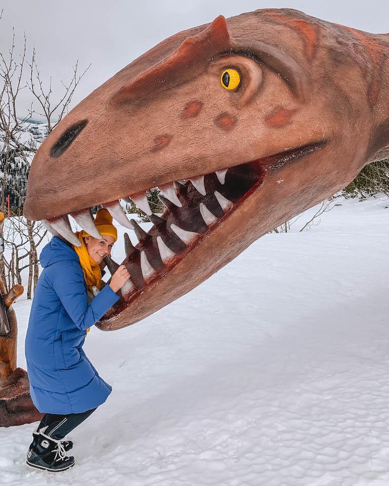 Kitzbuehler Alpen Steinplatte Dinosaur