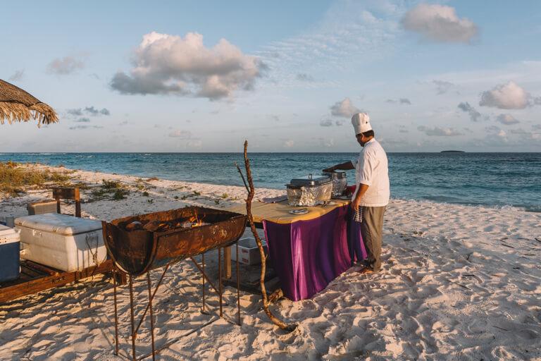 Barbecue Maldiven Eilanden