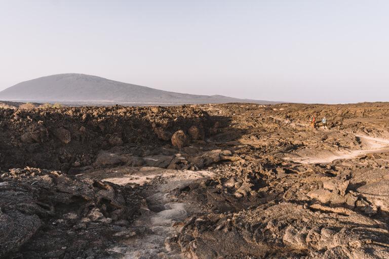 Erta Ale vulkaan Ethiopië Danakil-vallei