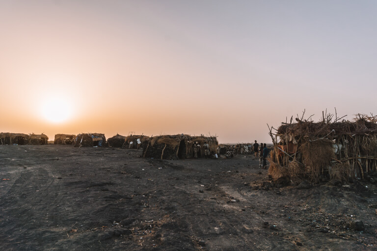 Erta Ale vulkaan Ethiopië Danakil Desert Camp