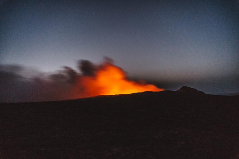 Erta Ale-vulkaan