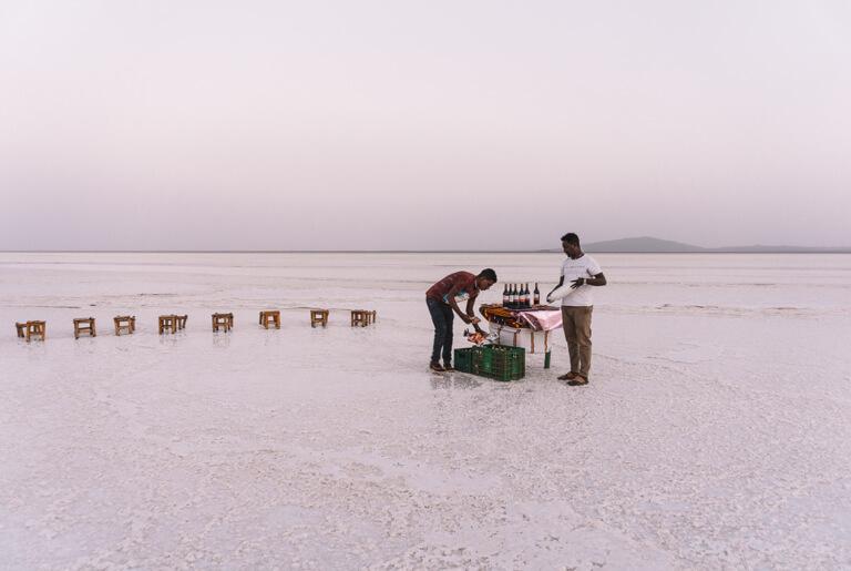 Karumsee Ethiopië Afar driehoek