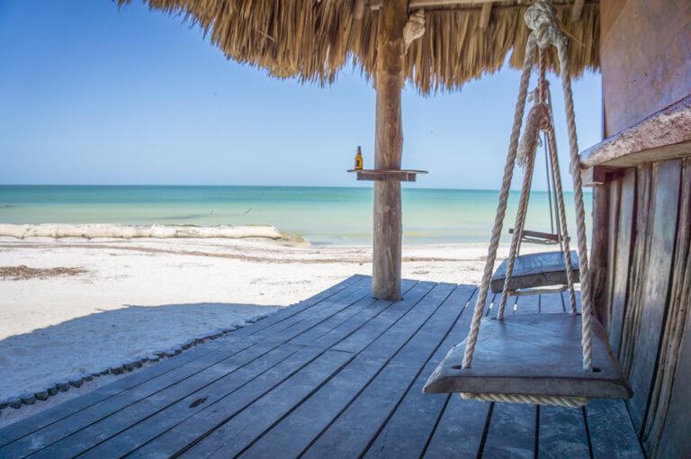 Mexico vakantie strandbar