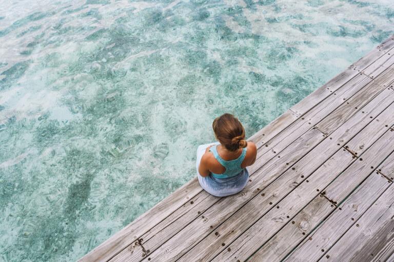 Mooiste lagune van de Malediven