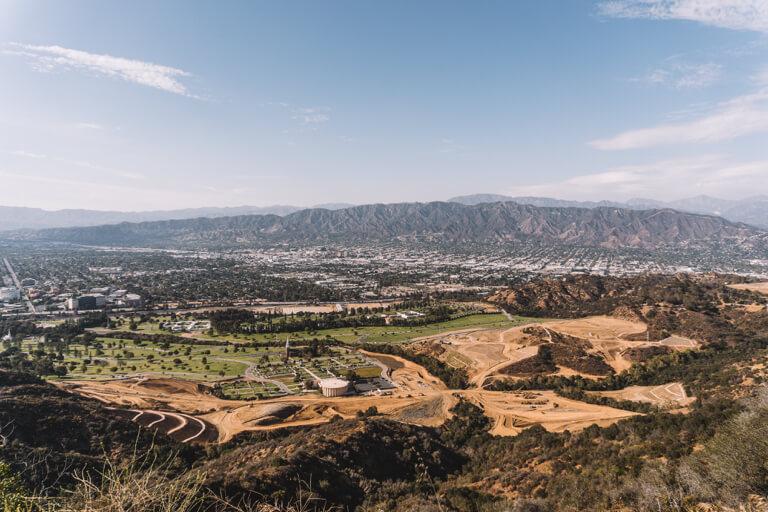 Uitzicht op Mount Lee LA