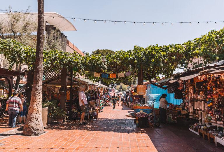El Pueblo de Los Angeles Olvera Street Market