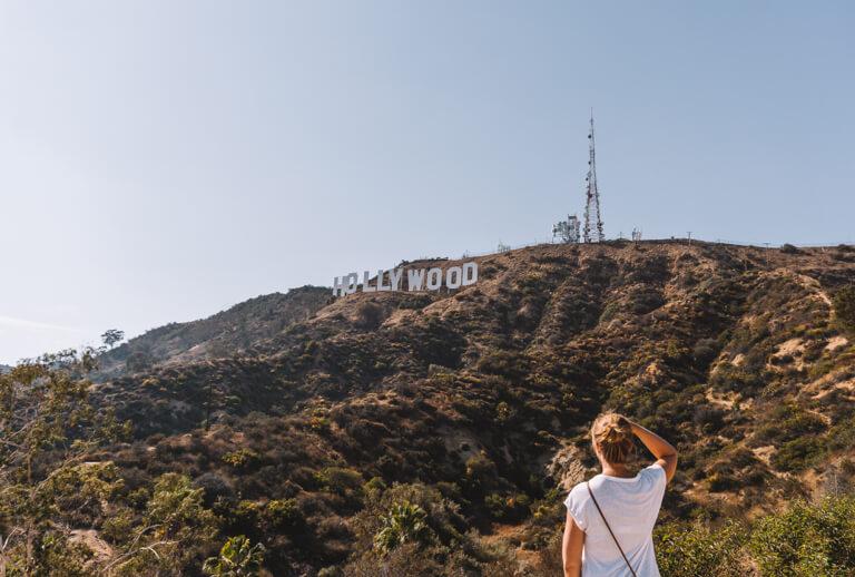 Bezienswaardigheden in Los Angeles Hollywood Sign Mount Lee