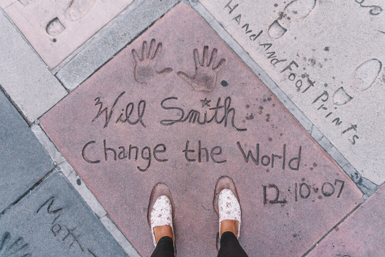 Los Angeles bezienswaardigheden Hollywood Walk of Fame Will Smith