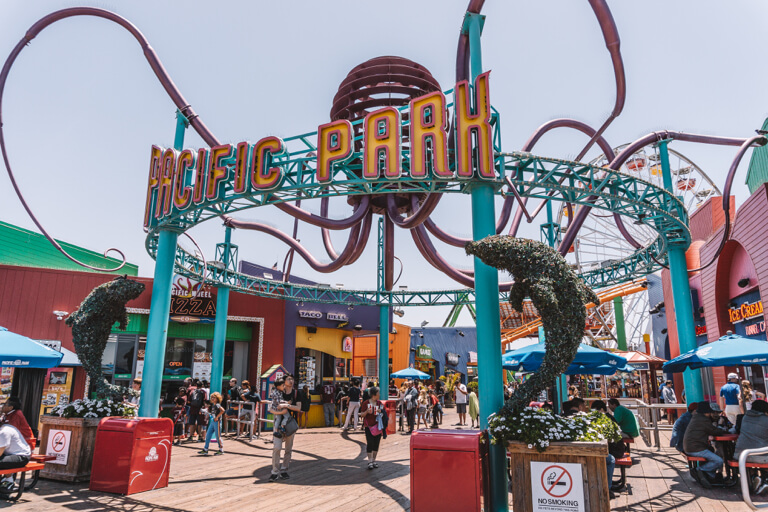 Attracties in Los Angeles Santa Monica Pier Pacific Park