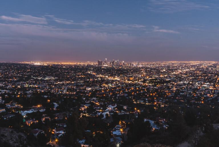 Los Angeles 's nachts
