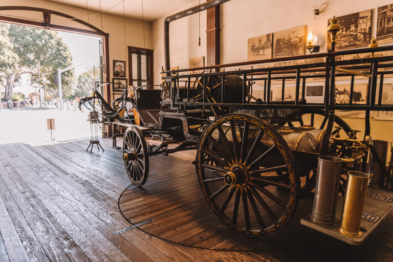 Oude Plaza Firehouse Museum Los Angeles