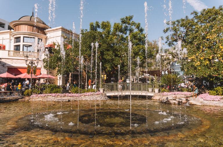 The Grove Fountain LA