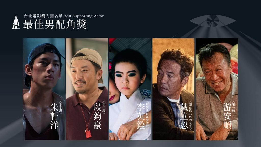 第22屆台北電影獎最佳男配角入圍名單