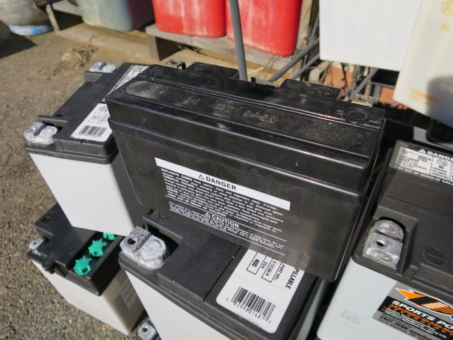 atv battery keeps dying
