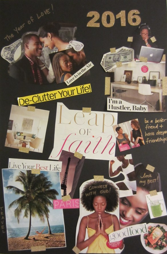 Making a vision board - Good Naija Girl