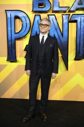 """LONDON, ENGLAND - FEBRUARY 08: Martin Freeman attends the European Premiere of Marvel Studios' """"Black Panther"""" at the Eventim Apollo, Hammersmith on February 8, 2018 in London, England. (Photo by Gareth Cattermole/Getty Images for Disney)"""