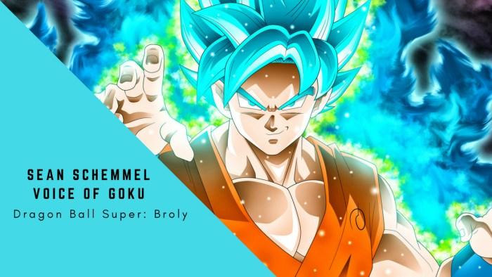 Sean Schemmel Voice of Goku