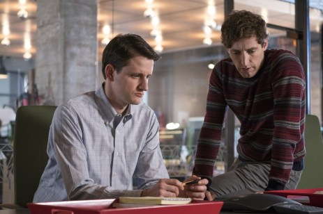 Zach Woods & Thomas Middleditch_Silicon Valley S5