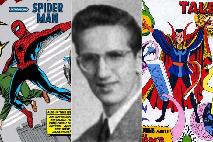 Steve Ditko HS Yearbook  Credit: Alamy