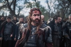 The Last Kingdom Series 3 Episode 1 Ola Rapace as Bloodhair Bloodhair sacrifices a horse © Carnival Film & Television Limited 2018 Orbital Strangers