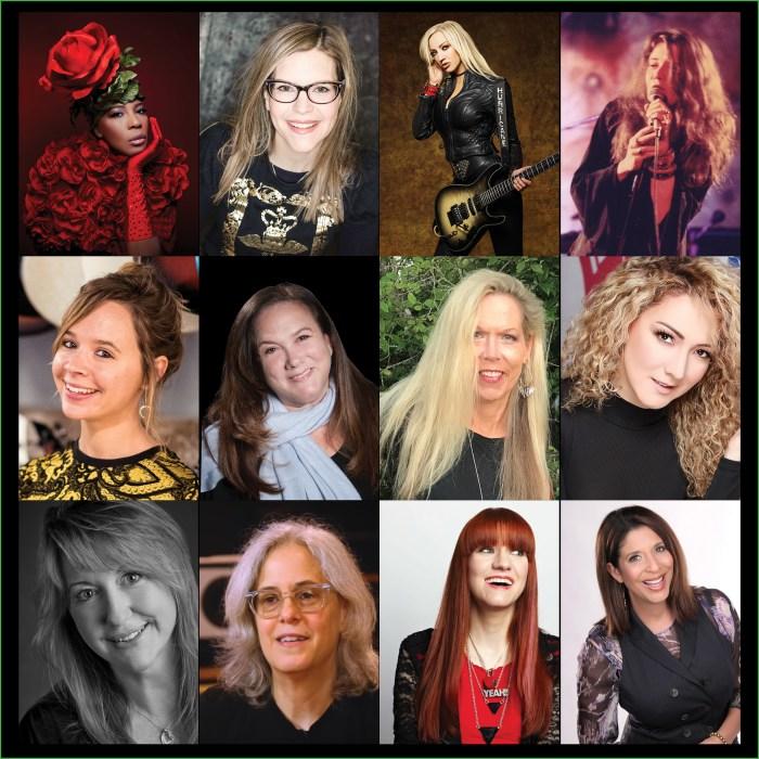 She Rocks Awards collage 2019